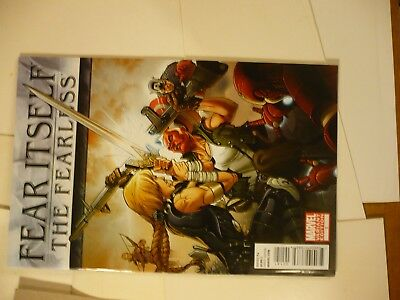 Fear Itself The Fearless #1 Variant Cover by Salvador Larroca Marvel 8C