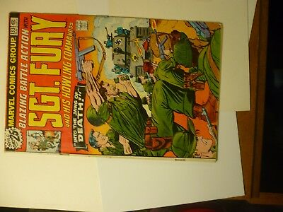 Sgt. Fury and His Howling Commandos Comic Book 133 Marvel 9A
