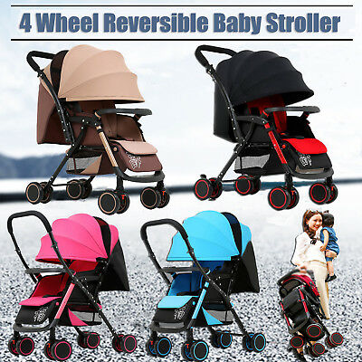 2018 Luxury Baby Stroller Portable Lightweight Travel Strollers Easy Carry Pram