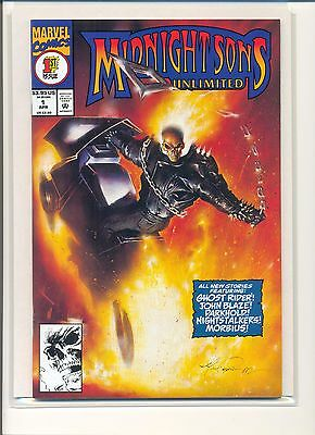 Midnight Sons Unlimited (Marvel, 1993-1995) #1 NM