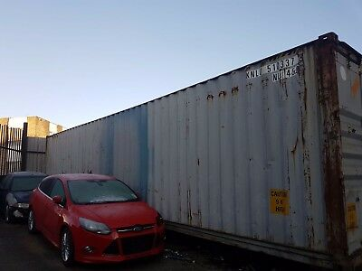 40Ft Shipping Container dry inside was used for storage no longer required