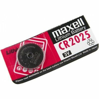 5X CR2025 Branded Hitachi MAXELL 3V LITHIUM Coin Cell Button Batteries TRUSTED