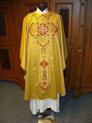 Messgewand Kasel chasuble Vestment  gold