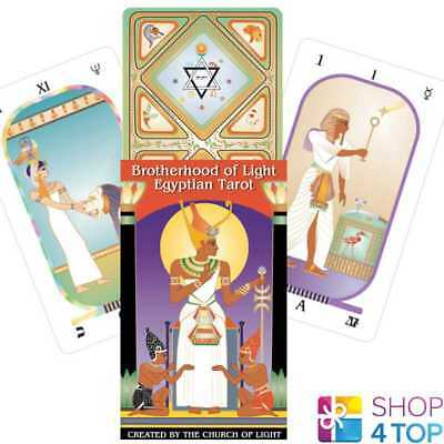 Brotherhood Of Light Egyptian Tarot Deck Cards Esoteric Telling New