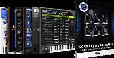 Korg Legacy Collection MAC or PC M1 MS-20 Polysix MonoPoly WaveStation MDE-X