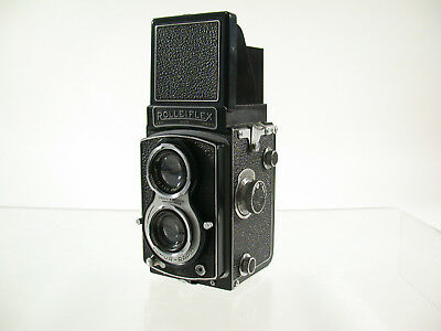 ROLLEI Rolleiflex 6x6 TLR Tessar 3,5/75 uncoated superclassic analog /17
