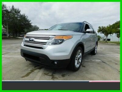 2014 Ford Explorer Limited 2014 Limited Used Certified 3.5L V6 24V Automatic Front Wheel Drive SUV Moonroof