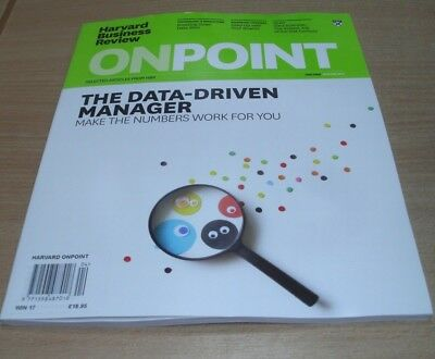 Harvard Business Review OnPoint magazine WINTER 2017 Data-Driven Manager, Talent
