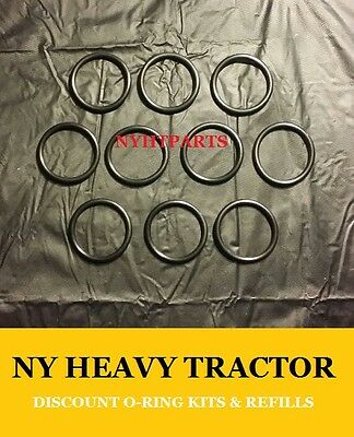 4F9653 4F-9653 Seal O Ring SET OF 10 New Replacement Caterpillar CAT C7 3126