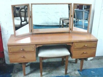 Mid Century Vintage Retro 1950s 1960s Meredew Dressing Table Delivery available.