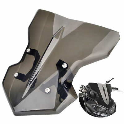 Front Motorcycle Windshield WindScreen With Bracket For Yamaha MT09 FZ09 2017 18