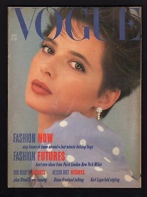 Vogue Magazine July 1984  Vintage Adverts