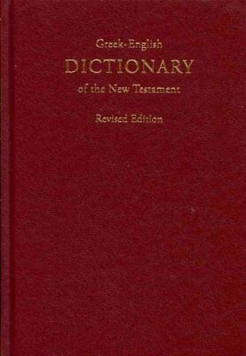 Greek-English Dictionary of the New Testament by Barclay M Newman 9783438060198