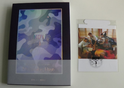 BTS Bangtan Boys Now 3 Photobook DVD + Poster Card Full Set KPOP