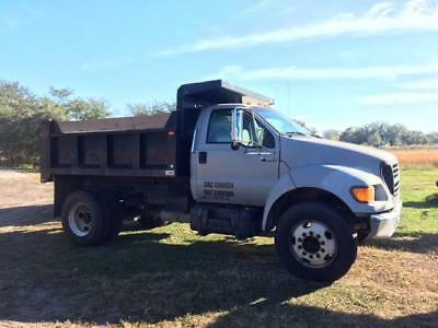 Ford F-650 dump truck with 140k miles NO CDL REQUIRED Cat Diesel engine
