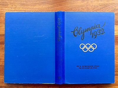 Original 1932  X  Los angeles Olympics Cigarette Card Álbum Complete + Cover