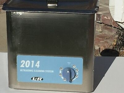 2014 L&R Ultrasonic Cleaning System w. Accessories Dental Great Condition!