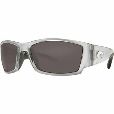 Costa Corbina Polarized 580P Sunglasses Silver/Gray One Size