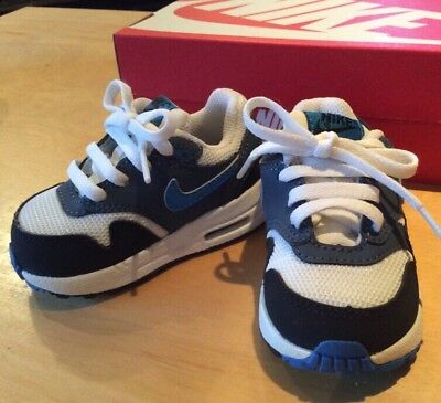 Worn Only Once, Nike Air Max Baby Boy Size Uk Infant 3.5