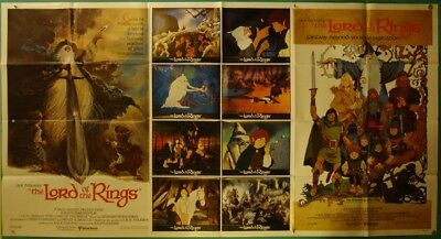 The Lord of the Rings-R.Bakshi-Epic Cartoon Fantasy-1-Stop Int'l (76x41 inch)