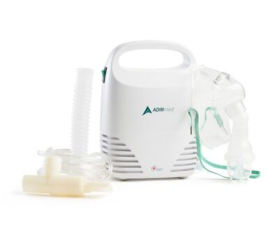 AdirMed Portable Compact Compressor Nebulizer with Filter Mask Kit