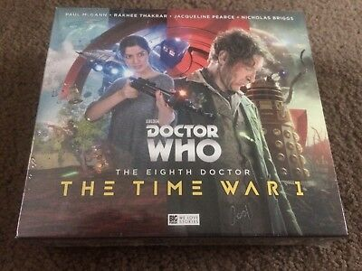 Doctor Who The Eighth Doctor - The Time War 1 Big Finish
