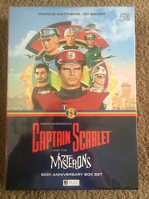 Captain Scarlet And The Mysterons 50th Anniversary Biz Set Limited Edition