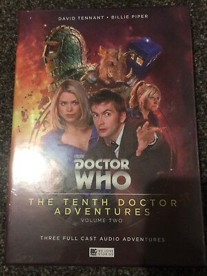 Doctor Who The Tenth Doctor Adventures Vol 2 Limited Edition Big Finish