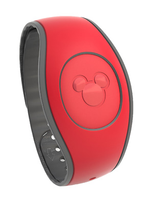 Red MagicBand 2 Magic Band Disney Parks *Link It Later*