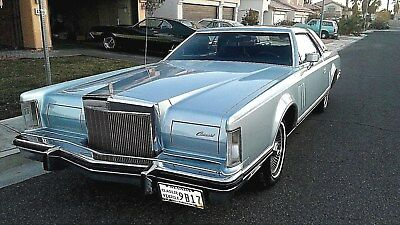 1979 Lincoln Mark Series  Collector's Series   48k original miles