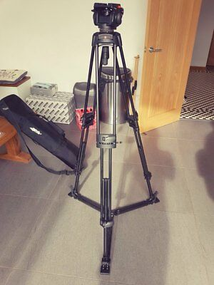 manfrotto with 501HDV pro video head with bag