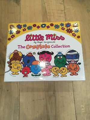 Little Miss Complete Collection by Roger Hargreaves Boxed Set 36 books Excellent