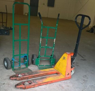 Hand Pallet Truck & 2 Sack Barrows - Broadstairs Ct10