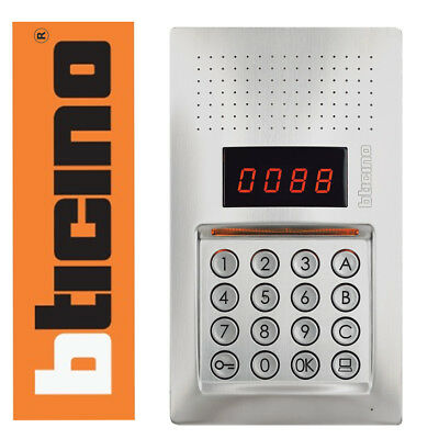 Bticino Terraneo Digital Door Entry Intercom Panel - Linea 343100 2 Wire 2 Fili