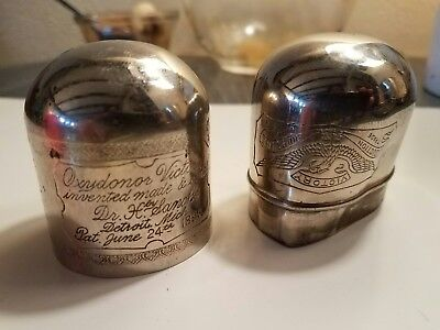 Oxydonor Victory Medical Quackery 1890s  CASE ONLY as is antique medicine 1800s