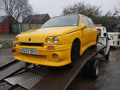 renault clio 1.2 dimma replica spares or repair 1993