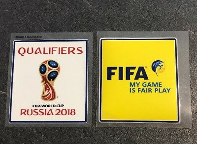 Fussball Patch WM Qualifikation 2018 World Cup Road to Russia Deutschland Trikot