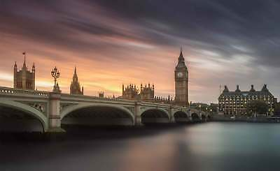 WALL MURAL PHOTO WALLPAPER XXL Palace Of Westminster London City Thames (1X-1179