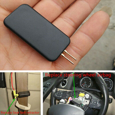 Black Car Vehicle Mini Air Bag Simulator Bypass Garage SRS Fault Diagnostic Kits