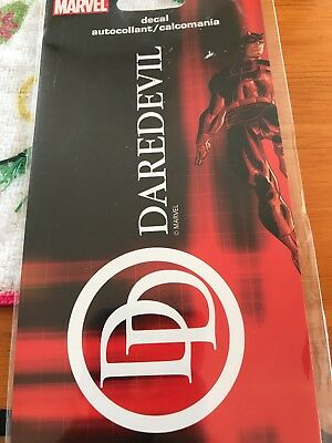 NEW Marvel Daredevil Decal New in Package