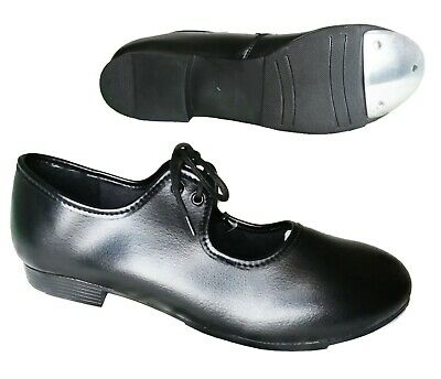 Black Tap Dance Shoes. Child Size 6 up to Adults 7.5