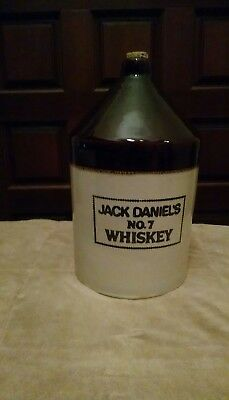 Jack Daniels No. 7 One Gallon Whiskey Crock Jug MINT