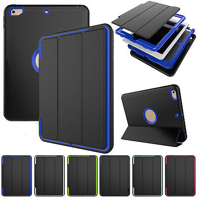 Heavy Duty Case Shock Proof Protective Hard lot Cover For iPad 2 3 4 mini Air 2