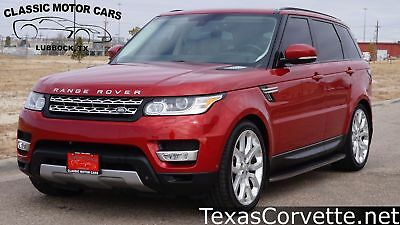 2014 Land Rover Range Rover HSE 2014 Red HSE! Sport, Loaded, Clean Carfax, Texas!