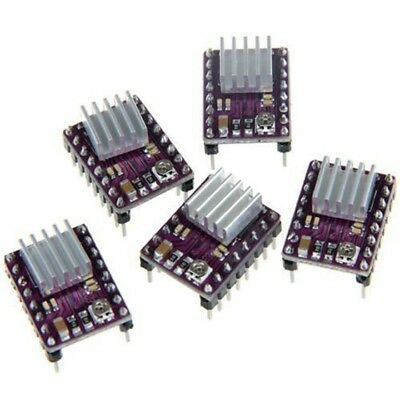 5x DRV8825 Stepper Motor Driver Module for 3D Printer Reprap RP A4988 Purple D6X