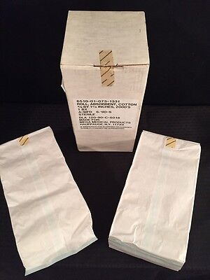 """NEW BOX OF 2000 MEGA MEDICAL Absorbent Cotton Roll 3/8x1.5"""""""