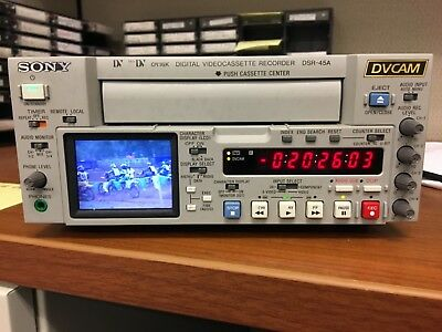 SONY DSR-45A Pro DVCAM DV/Mini DV Video Editing Deck