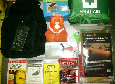 Survival/Emergency/Prepper/Urban 24hr personal bug out kit