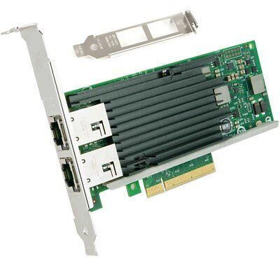 Intel ETHERNET CONVERGED NETWORK ADAPTER, DUAL PORT (X540T2)