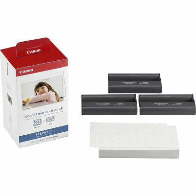 Canon KP-108N 108 Photo Sheets with Ink for Selphy CP910/CP1200